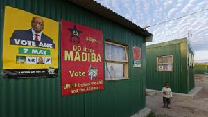 """Do it for Madiba*, Vote ANC!"" relied heavily on Mandela's legacy and their early contributions to end apartheid. * Mandela's clan name"